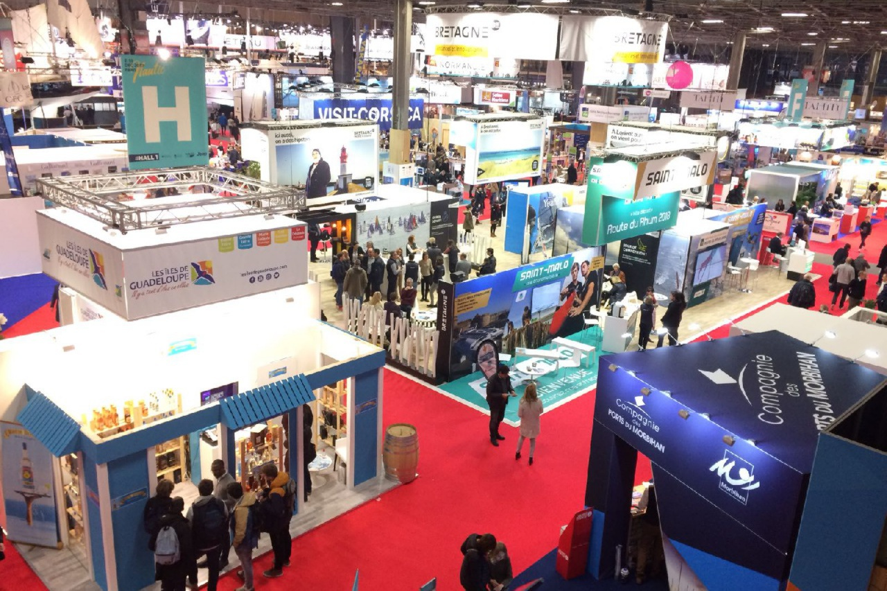 Successful inflow of visitors at our stand in the Nautic Paris Boat Show