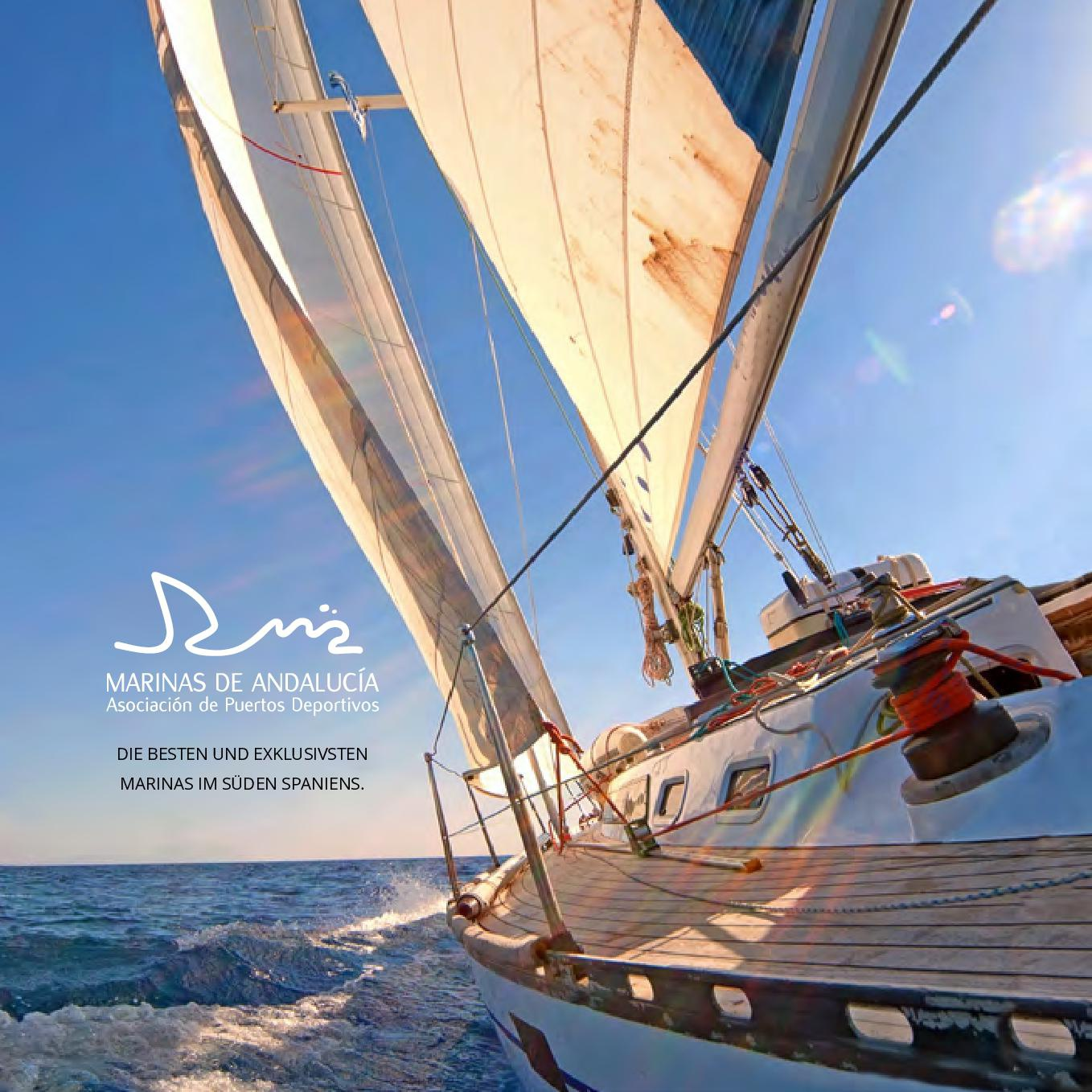 Marinas de Andalucía will promote more than 9,000 moorings at the Düsseldorf Boat Sho