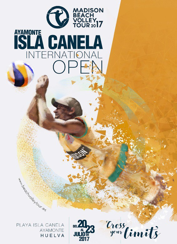 Isla Canela acogerá la tercera prueba del Madison Beach Volley Tour 2017