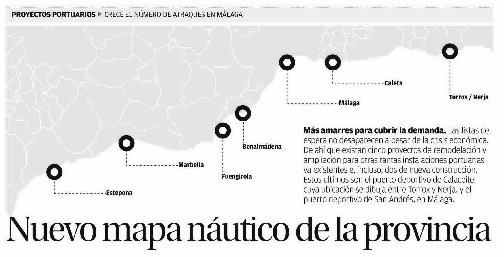Málaga superará los 10.300 puntos de atraque tras remodelar sus puertos