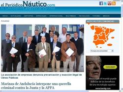 Amplia cobertura del anuncio de la interposición de una querella por parte de Marinas de Andalucía