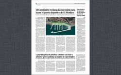 El Ayuntamiento de Málaga reactiva el proyecto de construcción de un puerto deportivo en el Morlaco
