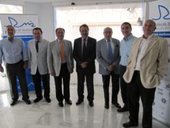 La Comisión Delegada de Marinas de Andalucía, encabezada por José Carlos Martín, renueva su cargo por dos años más