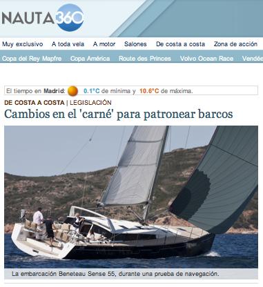Nueva legislación para títulos de navegación en el primer trimestre de 2014