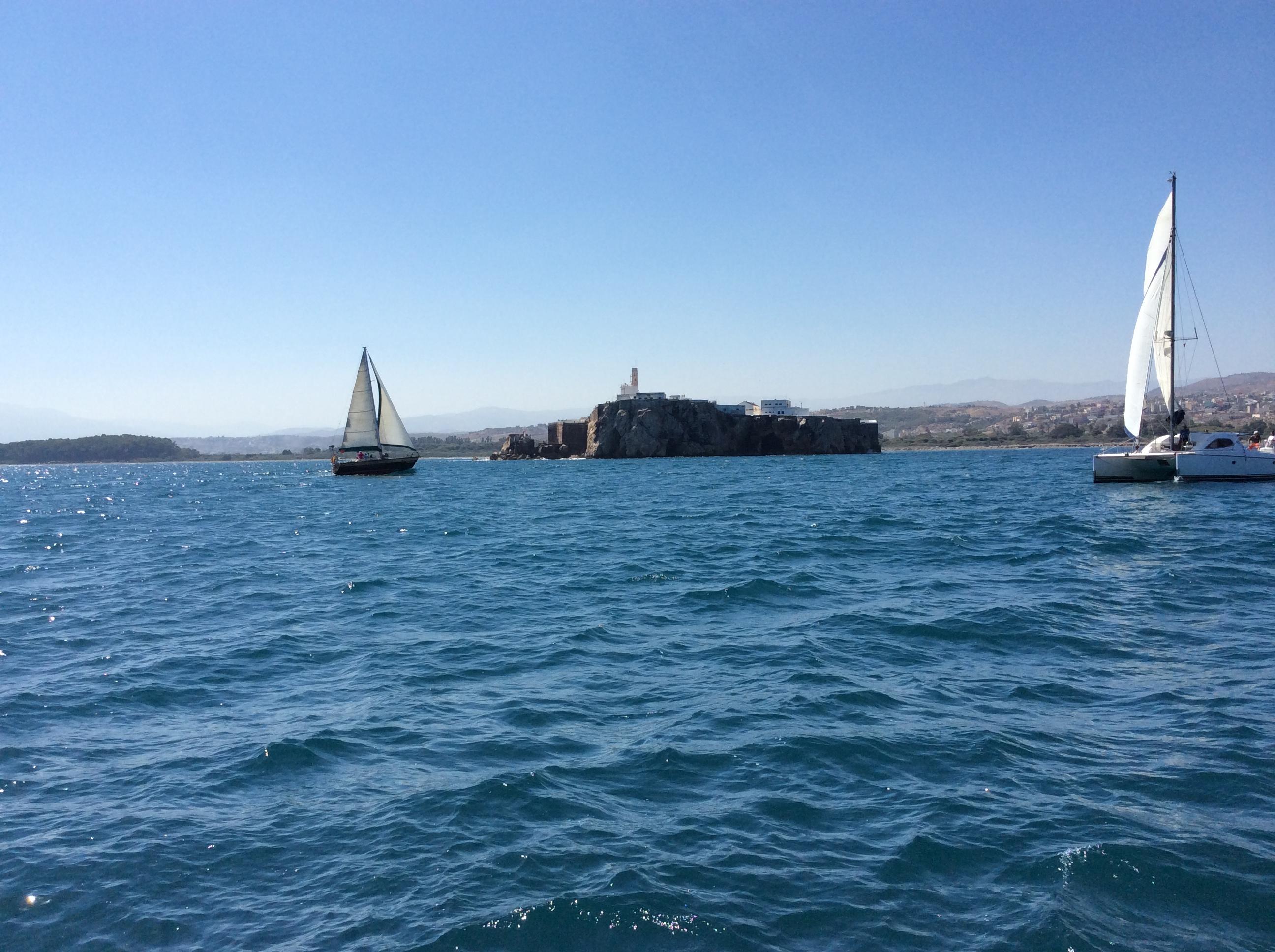 Exito de la 1ª edición de la Regata Bahía de Málaga-Bahía de Alhucemas que partió del Club El Candado