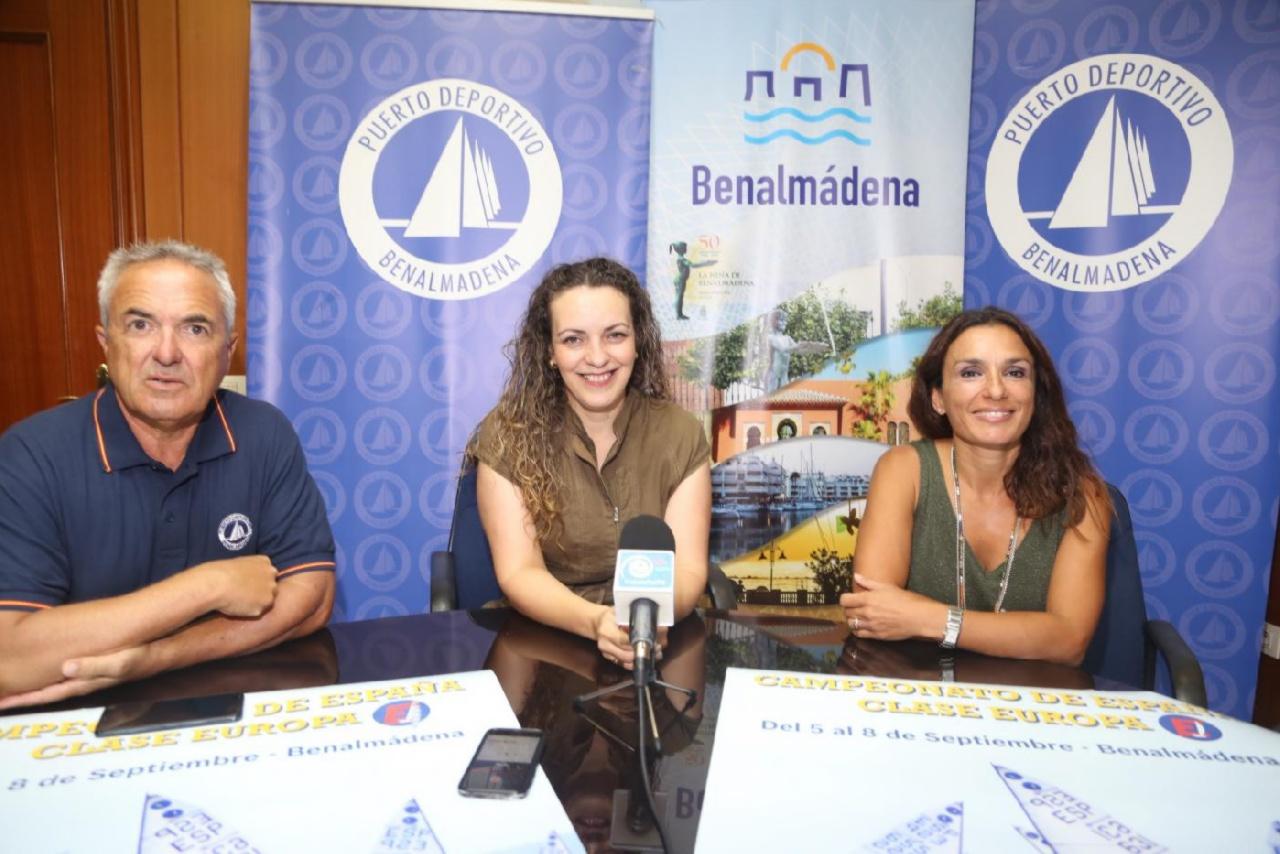 Benalmádena acoge el Campeonato Nacional de Vela de Clase Europa